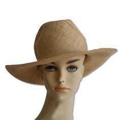 chapeau raphia pour femme - Vannerie Sana