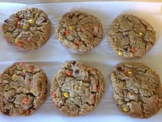 """I love """"monster cookies"""", but I grew up with my Grandma Barbra calling them """"Kitchen Sink Cookies"""". Whatever you call them, call them delicious. These are the perfect combin…"""