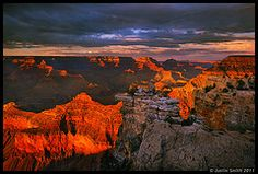Pretty picture of the South Rim of the Grand Canyon - I've been there, but I'd like to go again with my family.