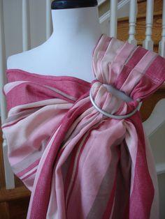 Girasol Wrap Ring Sling Conversion- Tenango $100 pink would be good for my friends having girls:)