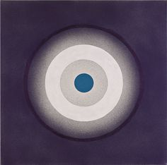 "heathwest: ""Kenneth Noland Mysteries, Amidst, 1999 Acrylic on canvas 91.4 x 91.4 cm """