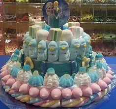 Forzen protagonista de esta dulce y gelida tarta de Duldi Terrassa.