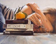 "Claire Elan, 'Metamorphosis', Oil on Canvas, 14""H x 18""W"