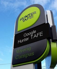 Digital Signs to Advertise TAFEs in NSW | Danthonia Designs