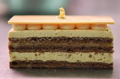 L'Opera Speculoos with Exotic Fruits by Patisserie Charle.