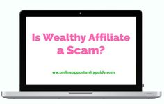 Wealthy Affiliate Is Not a Scam Make Money Online, How To Make Money, Positive Comments, Online Programs, Learning Process, Business Website, Free Website, Program Design, Reading Online