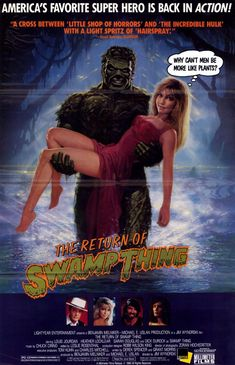 The Return of the Swamp Thing	 , starring .  #