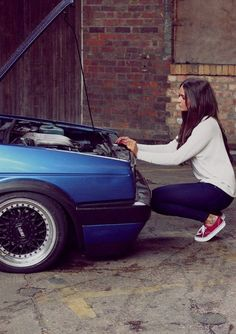 The Dub and the Lady. bbs and vans.