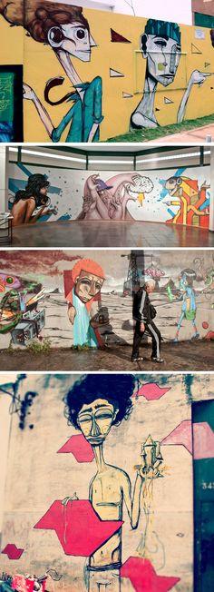 Street art by Iskor