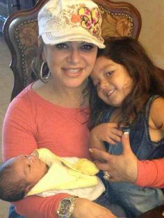 Jenni Rivera and her granddaughters