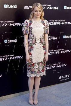 Twitter / stefanogabbana: Spiderman!!! Love Emma Stone in DOLCE & GABBANA 2012!