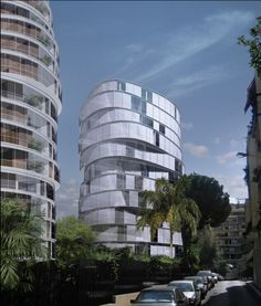 Y bldgs in Beirut by Paul Kaloustian Architect #incredible #design