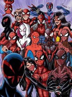 Spider verse fan art