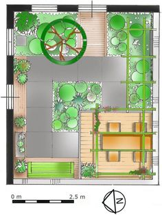 Afbeeldingsresultaat voor plattegrond kleine tuin
