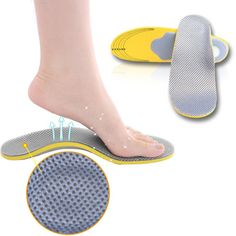 Arch Foot Orthotics Shoe Insoles Pad