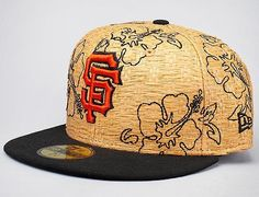 NEW ERA x MLB「San Francisco Giants Straw Fit」59Fifty Fitted Baseball Cap Fitted Baseball Caps, Fitted Caps, Sf Giants Hat, New Era Fitted, Fit Team, San Francisco Giants, Snap Backs, Headgear, Snapback Hats