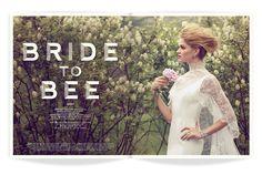 ★ DESIGN ARMY – Washingtonian Bride & Groom: Bride to Bee (Editorial Design and Art Direction) © Design Army LLC