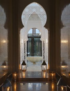Royal Mansour. Marrakech, Morocco.