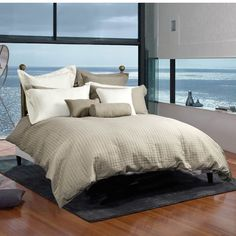 Essex 3 Piece Duvet Cover Set In Taupe http://www.beyondtherack.com/member/invite/B7C53751