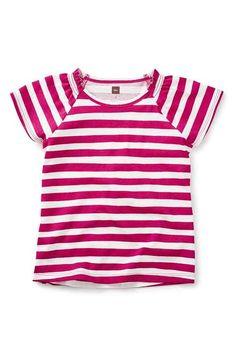 Tea Collection Eliza Stripe Tee (Toddler Girls, Little Girls & Big Girls)