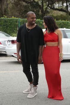 Kim & Kanye at the Roc Nation and Three Six Zero Pre-GRAMMY Brunch 2015 - February 06, 2015