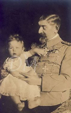 Two kings. Prince Mihai (future King of Romania) and his grandfather, King Ferdinand of Romania. Mary I, Queen Mary, King Queen, Royal Family Lineage, Michael I Of Romania, Romanian Royal Family, Romanian Flag, History Of Romania, Grand Duchess Olga