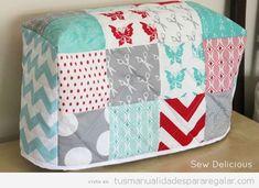 Fundas máquina de coser patchwork