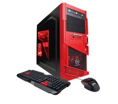 CyberpowerPC Gamer Ultra GUA370 Gaming Computer. I looove this red...buuuut... I prefer to build my own pc :P