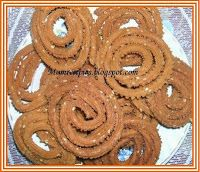 Bhajanee Chakli - A traditional maharashtrian snack.