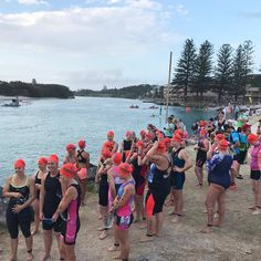 Today is the day! Kingscliff Triathlon is here for our challengers! The start of the race is the best bit- so much is about to happen! Adrenalin +++  http://www.triathlon-hacks.com/best-beginner-triathlon-training-program/ @yummymummyfitness