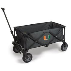 University of Miami Adventure Portable Utility Wagon w/Digital Print