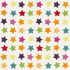 spring stars fabric by scrummy on Spoonflower - custom fabric