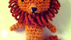 Free Wizard of Oz Cowardly Lion Crochet Pattern