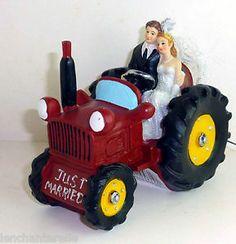 Tractor Wedding Cake Topper | Wedding Cake Topper | Pinterest ...
