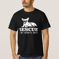 Chihuahua Dog-Rescue Is My Favorite Breed T-Shirt   chihuahua gifts, chihuahua names boys, dog costume chihuahua #chihuahua #chihuahualovefood #Chihuahuasofinsragram, back to school, aesthetic wallpaper, y2k fashion Chihuahua Tattoo, Chihuahua Puppies, Tee Shirts, Tees, Dog Mom, Rescue Dogs, Poodle, Your Dog, My Favorite Things