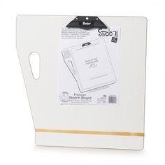 Bulk Buy: Darice DIY Crafts Sketch Board Masonite 18 x 18 inches (12-Pack) 97003