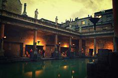 Roman Baths in Bath. Photo CC by