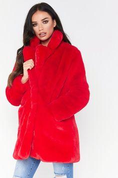 Autumn Winter Coat Women 2018 Fashion Faux Fur Coat Women Casual Faux Rabbit Fur Jacket Warm Furs Coats Pocket Outwear Plus Size Winter Coats Women, Coats For Women, Rabbit Fur Jacket, Long Faux Fur Coat, Polyester Material, Outerwear Women, Casual, Clothes, Style