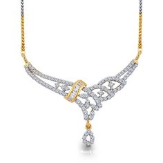 Lovely Diamond Tanmaniya. Revive the spirit of festival season with this lovely diamond Tanmaniya pendant, that has lines of round diamonds held together by a baguette diamond sash, leading down. Festive and Fantastic....! - See more at: http://www.diamonds4you.com/item/21408170.aspx#sthash.zL59kZxH.dpuf. #diamonds #pendants #jewellery #wedding #diamondpendant #onlinejewellery