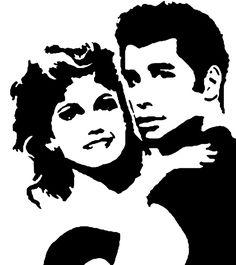 Grease stencil