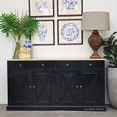 Our FAB South Hamptons 4 Door Buffets are back in stock! Available in: black with limewash top black white white with limewash top In stock NOW! Styling A Buffet, Hampton Furniture, Blue Interior Doors, Coastal Dining Room, White Buffet, Black Sideboard, Hamptons Style Living Room, Industrial Style Decor, Black Buffet