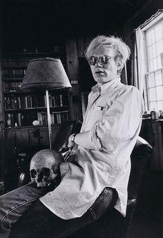 Warhol & friend