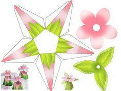 Cajita flor