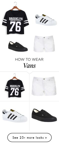 """""""Sans titre #41"""" by injuss on Polyvore featuring Vans, Topshop and adidas"""