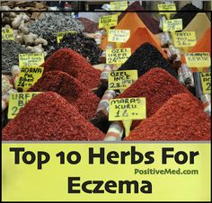 Top 10 Herbs For Eczema- Eczema is a type of skin disease classified as dermatitis. It is a common problem and can happen to anyone.
