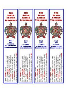 grandfather tattoo First nations 7 grandfather teachings - erste nationen 7 grovater lehren - premires nations 7 enseignements de grand-pre - Native American Symbols, Native American Quotes, Native American Crafts, Native American History, American Indians, Aboriginal Dot Art, Aboriginal Education, Indigenous Education, Grandfather Tattoo