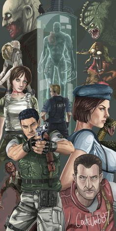 virus juego REbirth by on Devian - virus Tyrant Resident Evil, Resident Evil Video Game, Resident Evil Franchise, Resident Evil Anime, Geeks, Albert Wesker, Evil Art, Evil World, Jill Valentine