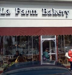 La Farm Bakery this is one of our favorite places almost as good as being in France