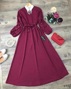 Perfect wooow amazing Hijab Fashion Summer, Modern Fashion Outfits, Girls Fashion Clothes, Muslim Fashion, Fashion Dresses, Designer Party Wear Dresses, Indian Designer Outfits, Stylish Dresses For Girls, Stylish Outfits