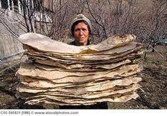 'Lavash' Armenian cracker bread